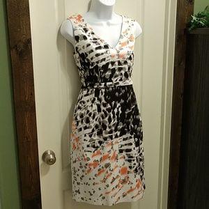 Tahari sleeveless dress